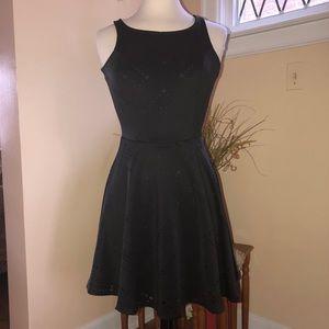 Homecoming Black Dress